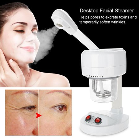 Anauto Portable Desktop Faciall Steamer Negative Ion Moisturizing Sprayer Skin Care ()