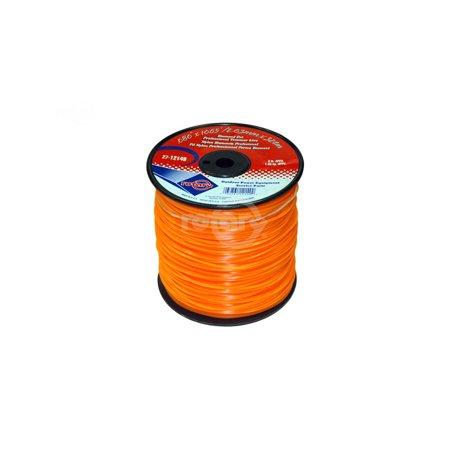 Trimmer Line .080 3 LB Medium Spool. Diamond.