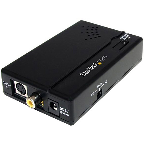 StarTech Composite and S-Video to HDMI Converter with Audio