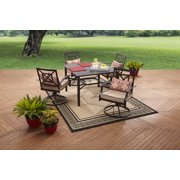 Better Homes and Gardens Carter Hills 5-Piece Dining Set, Seat 4
