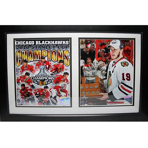 NHL Jonathan Toews Double Custom Frame, 12x18