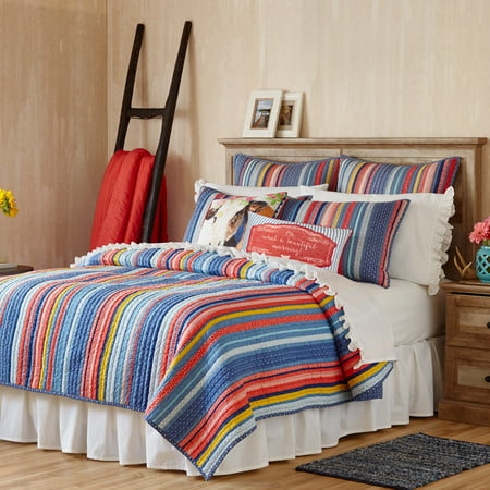 The Pioneer Woman Barn Dance Quilt Boys Queen Quilt Bedding