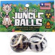 Catnip Jungle Balls Cat Toy, 2 Count