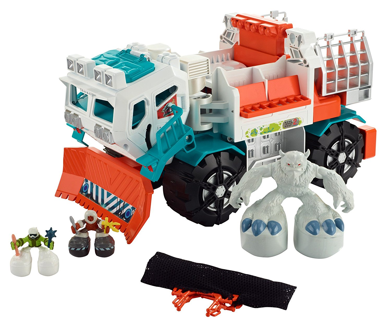 Big Boots Yeti Catcher Truck Vehicle, It's a big adventure with the Big Boots Yeti Catcher... by