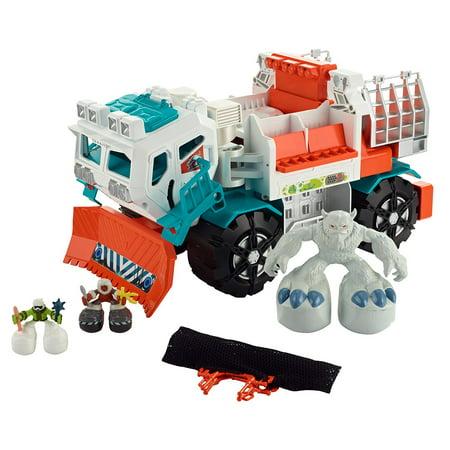 Big Boots Yeti Catcher Truck Vehicle, It's a big adventure with the Big  Boots Yeti Catcher Truck Vehicle By Matchbox