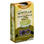 Wholly Guacamole Minis Classic Guacamole Mild, 4 ct
