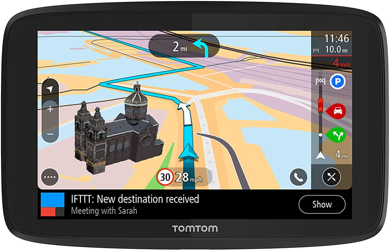 Car GPS Holder Compatible with Garmin GPS Drive 61 LM and More GPS Navigation Black Weather Resistant Exterior /& Accessory Pocket Ohrex T76 N76 Garmin DriveSmart 65 USA Gear GPS Hard Case