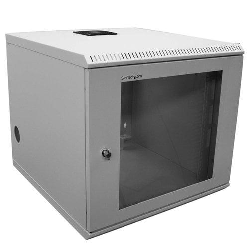 StarTech.com 10U Wall Mounted Server Rack Cabinet