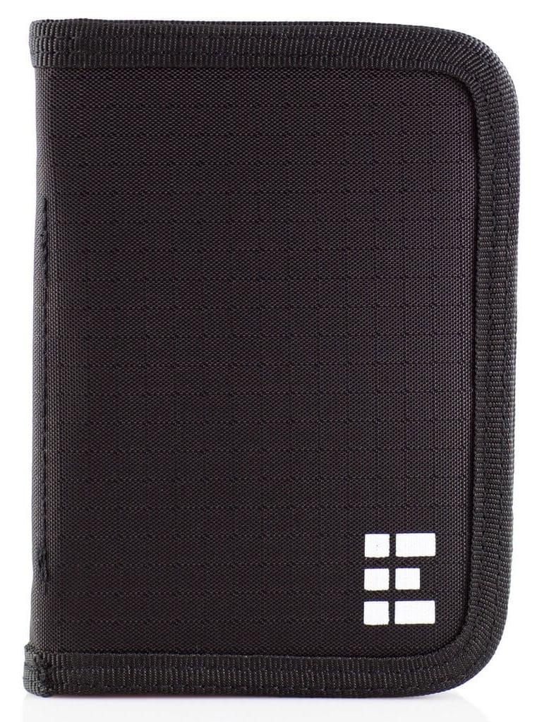 Leather Passport Holder Wallet Cover Case RFID Blocking Travel Wallet Steam Clock Gate