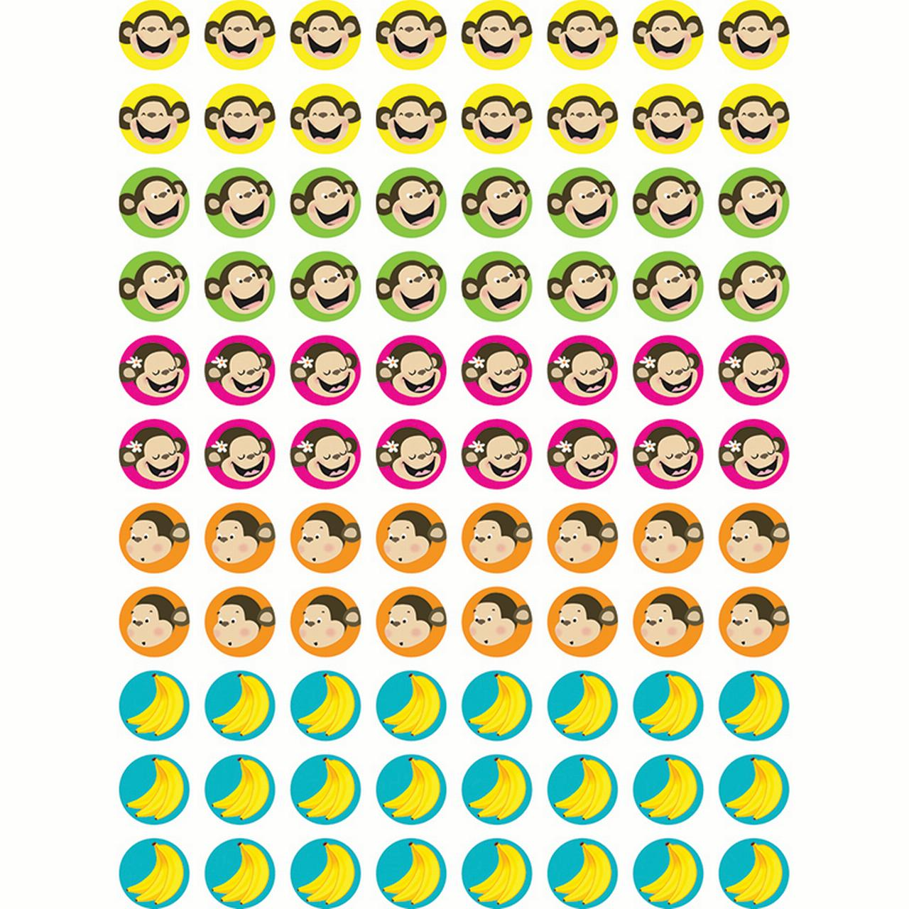 MONKEYS & BANANAS HOT SPOTS STICKERS