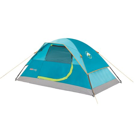 Kids Wonder Lake 2-Person Dome Tent, Weather Tec system - patented welded floors and Inverted seams help keep water out By