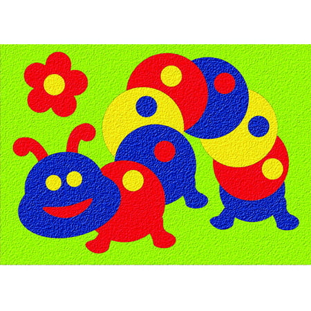 Caterpillar Puzzle (Lauri® Crepe Rubber Puzzle - Caterpillar)