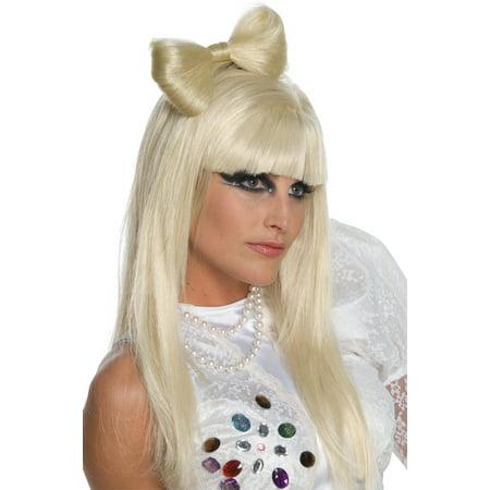 Lady Gaga Bow Clip Adult Halloween Accessory