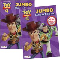 Toy Story 4 80pg Coloring Book
