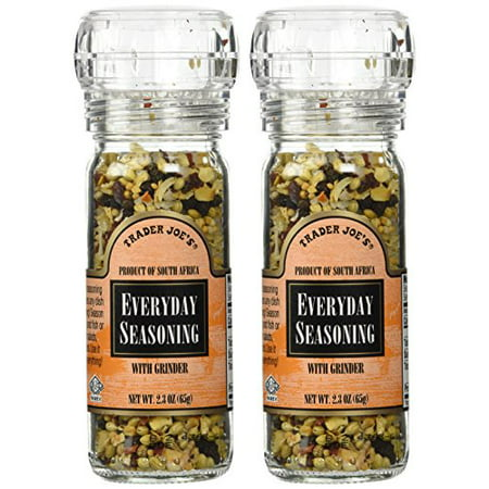 Trader Joe's Everyday Seasoning with Grinder 2.3 oz Pack of 2](Trader Express)