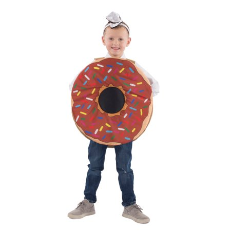 Kids Sprinkle Donut Mascot Halloween Costume](Halloween Donuts With Teeth)
