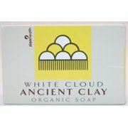 Organic Ancient Clay Natural White Cloud Scent Zion Health 6 oz Bar Soap