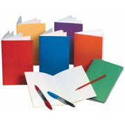"""Hygloss Rainbow Bright Blank Book, 8.5"""" x 11"""", Assorted Colors, 6pk"""