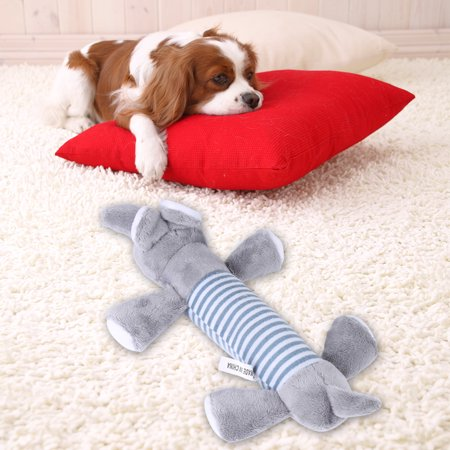 Ejoyous 3 Different Animal Shape Types Pet Toy Puppy Chew Squeaky Plush Sound for Gift , Puppy Chew Toy,Pet Toy - image 4 of 7