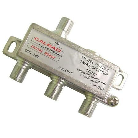 5-713-3 3 Way 1 GHz 130db Digital Splitter (3 Way Electronic)