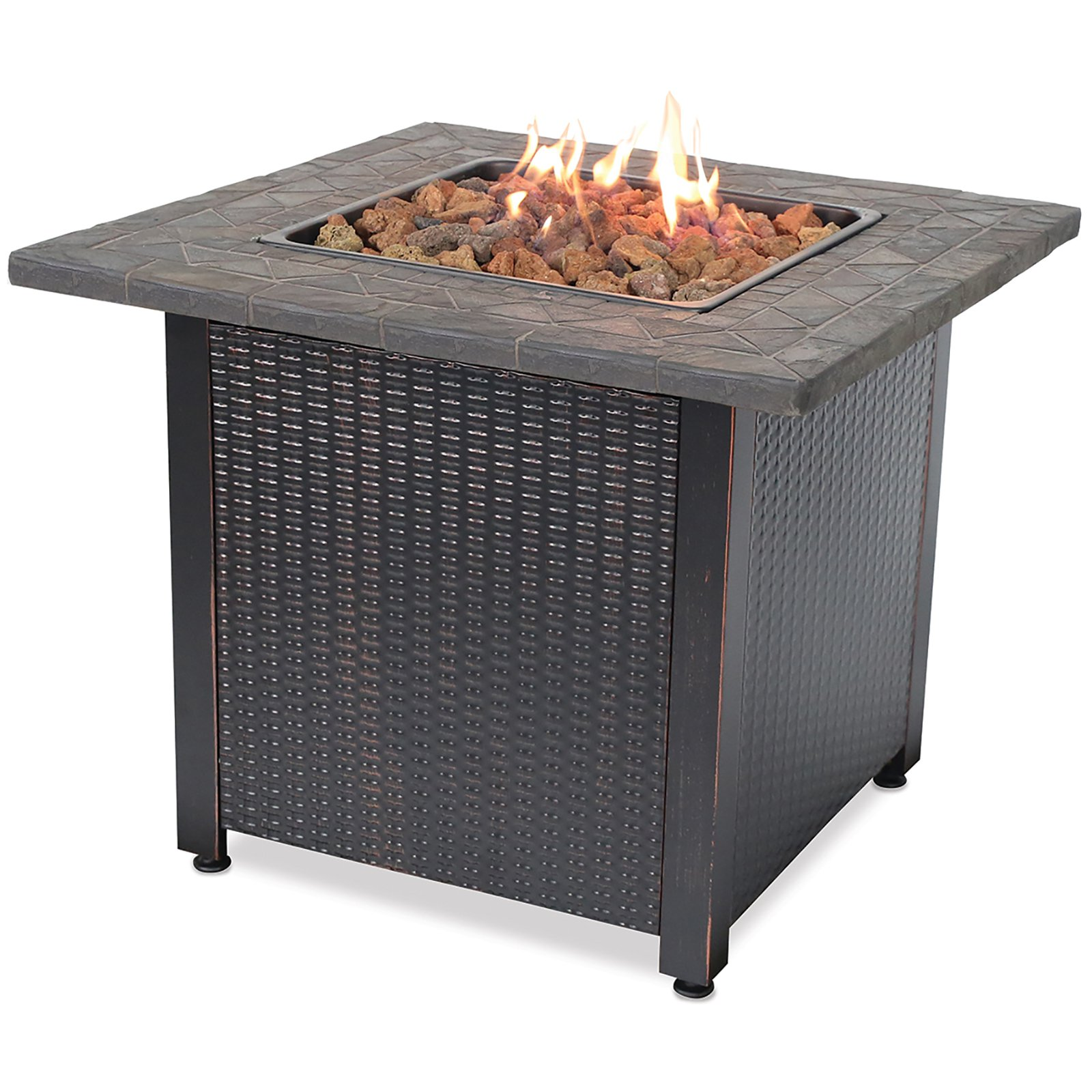Blue Rhino LP Gas Outdoor Fireplace