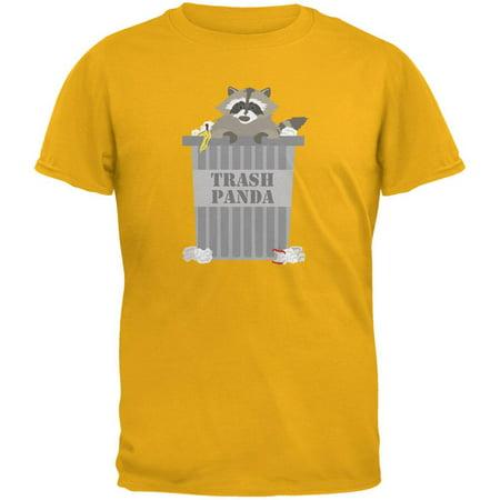 Trash Panda Raccoon Gold Youth T-Shirt