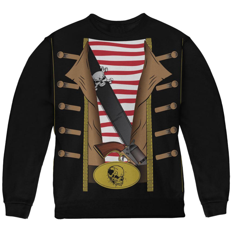 Halloween Pirate Costume Black Youth Sweatshirt by