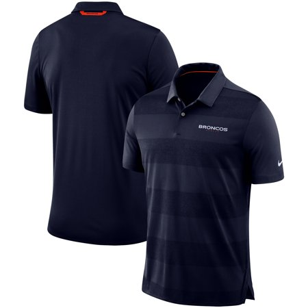 Denver Broncos Nike Sideline Early Season Wordmark Performance Polo -