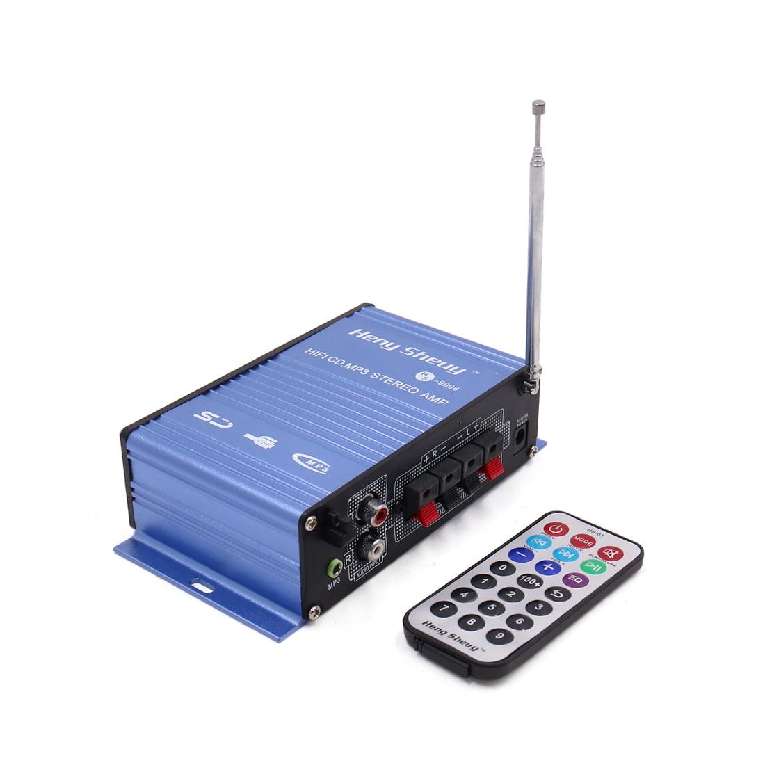 12V 2 Channel  Digital  HiFi Audio Stereo Amplifier for Car
