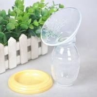 Mom Breastfeeding Milk Saver Manual Breast Pump Feeding Suction Bottle Container