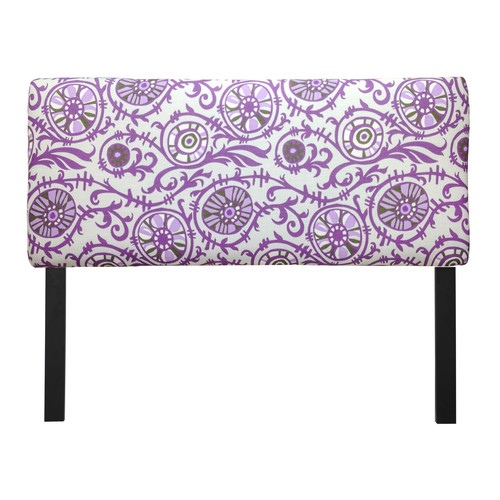 Sole Designs Suzani Grapevine Upholstered Headboard