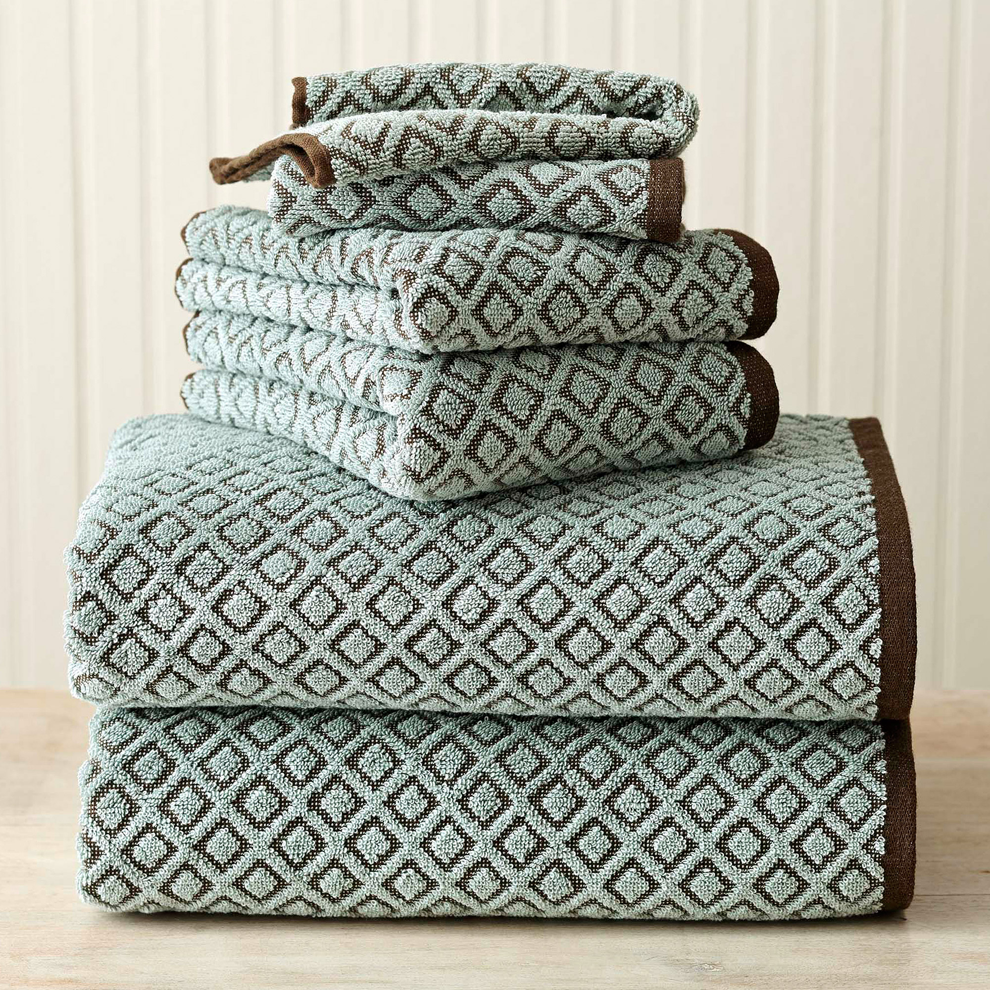 Better Homes and Gardens Kendo Extra Absorbent 6-Piece Towel Set