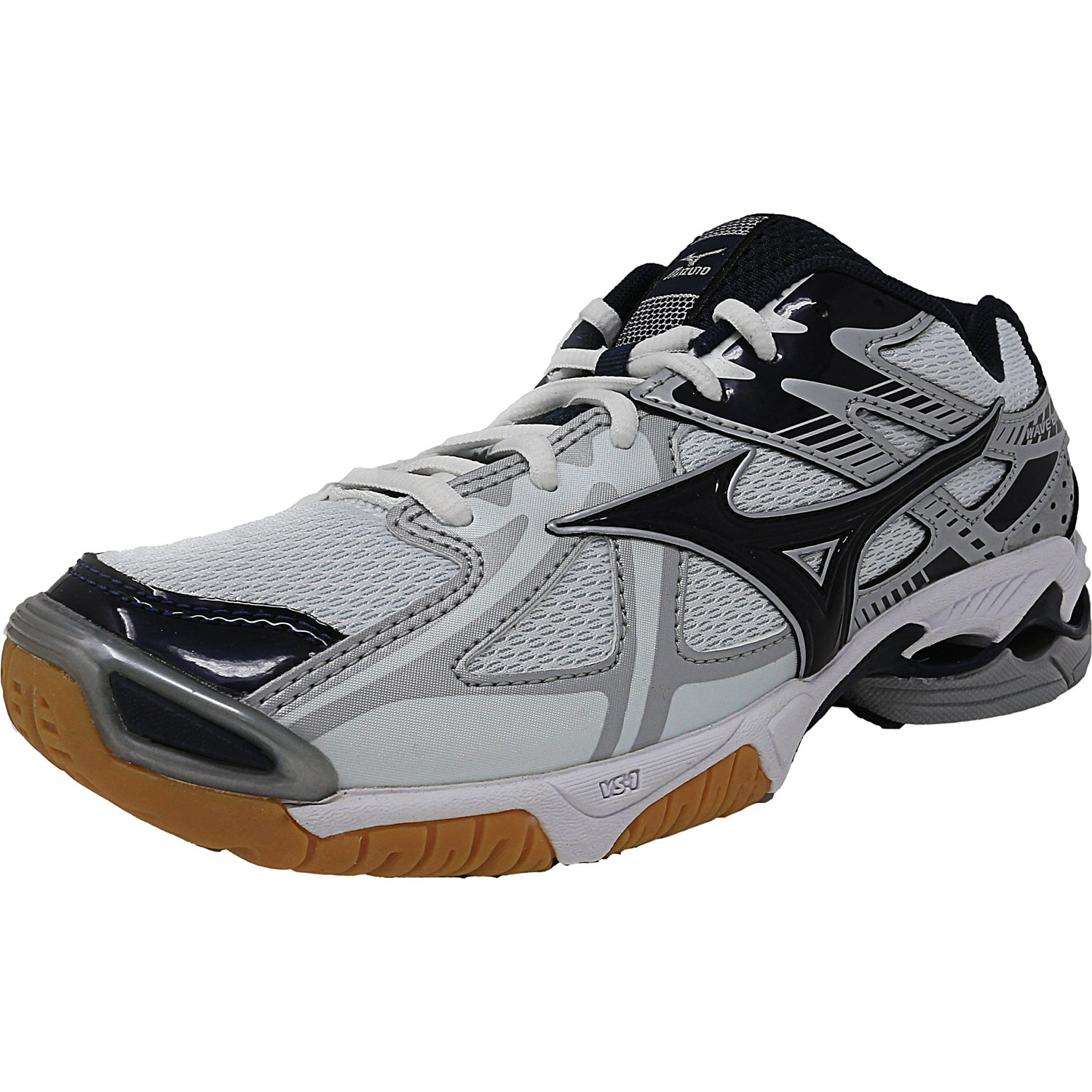 Mizuno Women's Wave Bolt 4 Black Silver Grey Ankle-High Running Shoe 11M by Mizuno