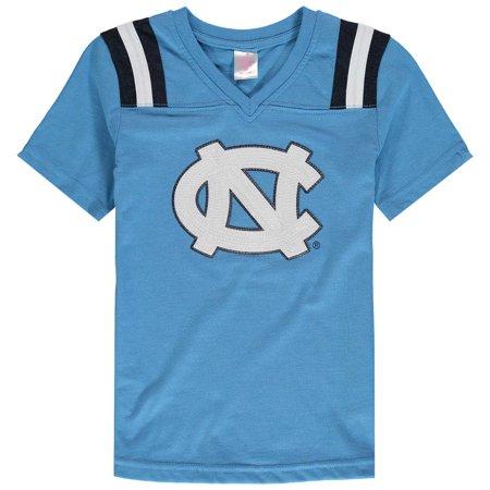 Youth Girls Colosseum Rugby North Carolina Tarheels UNC T-Shirt - North Carolina Grill Pad