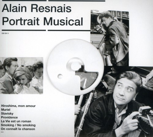Alain Resnais Alain Resnais: Portrait Musical [CD] by