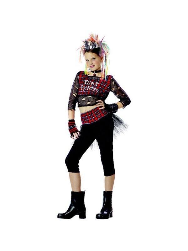 Childu0027s Punk Rock Girl Costume  sc 1 st  Walmart & Childu0027s Punk Rock Girl Costume - Walmart.com