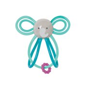 Manhattan Toy Winkel Elephant Rattle and Sensory Teether Baby Toy