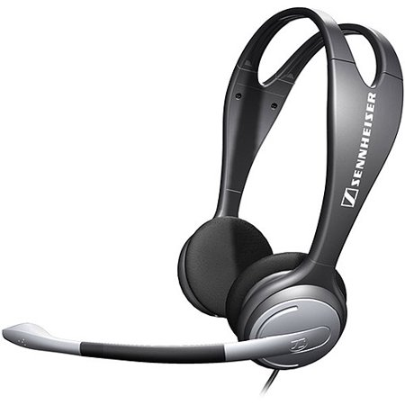Sennheiser Over-the-Head PC131 Double-Sided Headset with Noise Canceling Microphone 500912
