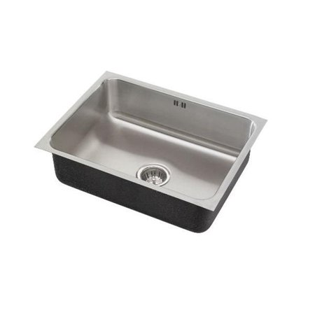 18 Gauge T-304 Single Bowl Undermount Commercial Grade Sink with Integral Overflow - image 1 de 1