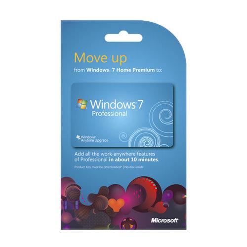 Microsoft 7 Home Premium to Pro Upgrade (PC)