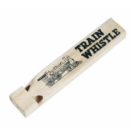 - Wooden Train Whistles