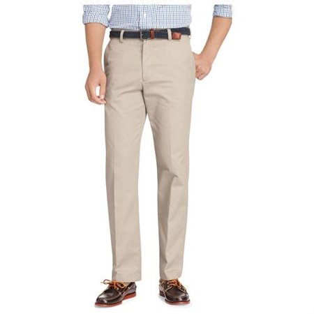 izod- american chino flat front pants straight fit