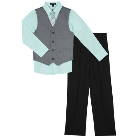 Boys' Sharkskin Special Occasion Dress Outfit Set
