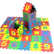 snorda 36Pcs Baby Child Number Alphabet Puzzle Foam Maths Educational Toy Gift