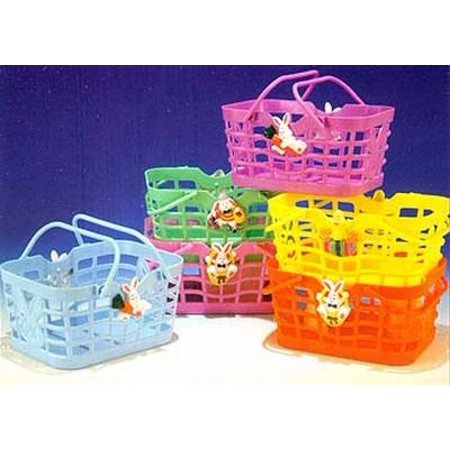 Funworld Easter Bunny Candy Baskets 6 X 4 1 2   3 Pack