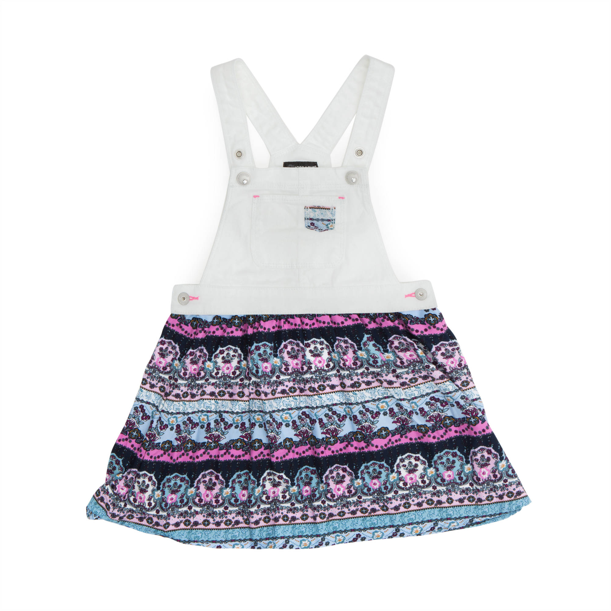 Jordache Toddler Girl Mixed-Print Skirt-All