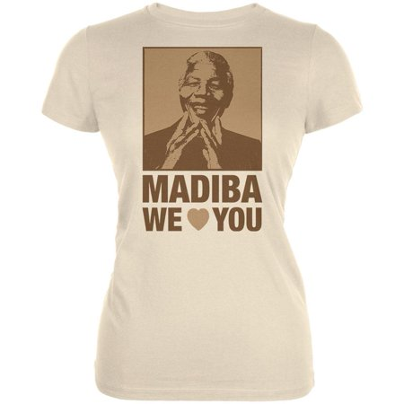 Nelson Mandela Madiba We Love You Juniors T-Shirt