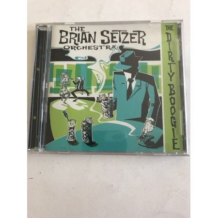 The Brian Setzer Orchestra:The Dirty Boogie CD-Tested-Rare-Vintage Ships N - Brian Setzer Orchestra
