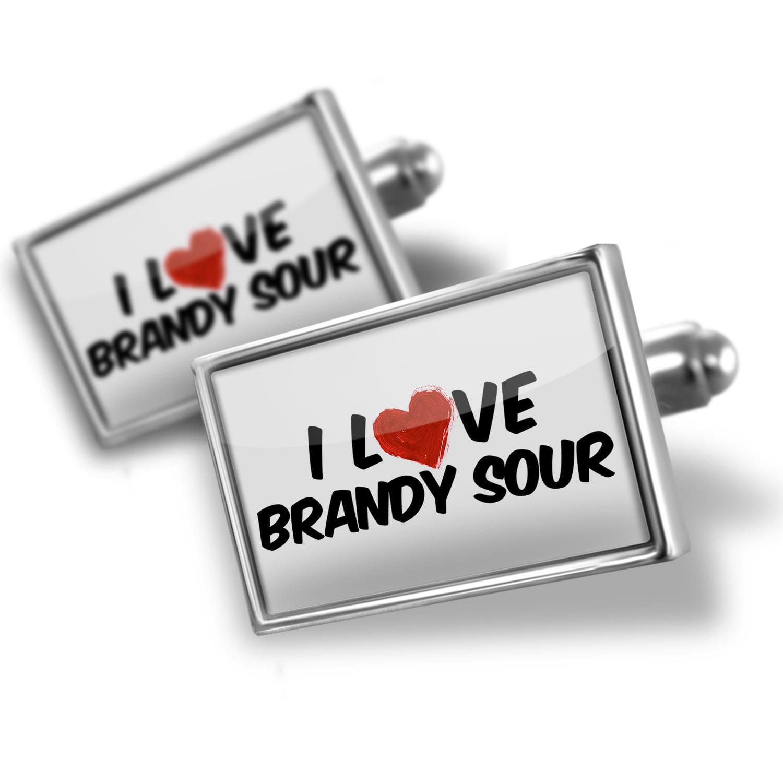 Cufflinks I Love Brandy Sour Cocktail - NEONBLOND