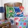 PJ Masks Sheet Set, Kids Bedding, 3-Piece Twin Size